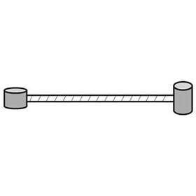 Asista MTB Universal Bremsseil 205cm